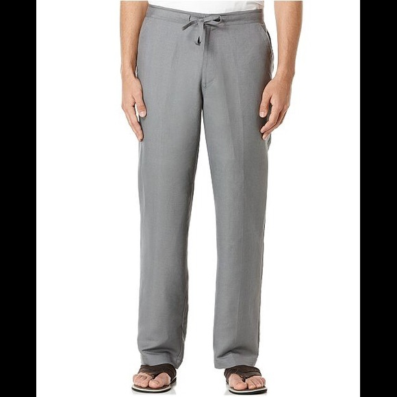 New Tommy Hilfiger Men/'s Linen Pants